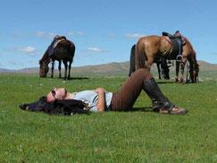 cheval en Mongolie - randonnée équestre en Mongolie - voyage transsibérien