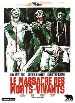 Le Massacre Des Morts-Vivants de Jorge Grau - 1974 / Horreur