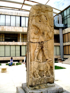 Hethitischer Wettergott Tehub, Musum von Aleppo, 2002