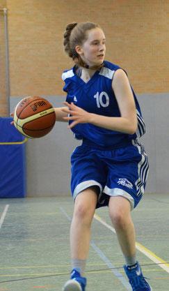 Die 15-jährige Sophie von Ass wurde mit zehn Punkten Topscorerin der Stader. (Foto: Moradi)