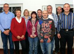 v.l.n.r.: Jürgen Friederichs, Birgit Schintag, Kerstin Niebuhr, Corinna Lorenz, Hans-H. Fehlhaber, Burkhard Lorenz, Wolf Thode, Kai Feuerstake, Benno Brandt