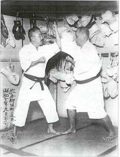 Kenwa Mabuni Choki Motobu Karate
