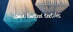 Lighting PR - Janie Knitted Textiles Lighting