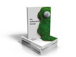 Das Konzept-Buch. Foto Golfmentor-Projektgruppe