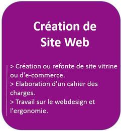 Web 2 Conseil Formation : agence de création et de production de site vitrine et E-commerce