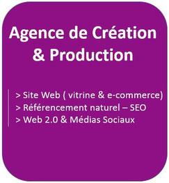 Web 2 Conseil Formation : agence de création et de production de site vitrine et E-commerce, référencement naturel et stratégie sur les médias sociaux