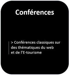 Intervention de type conférence auprès d'un public de professionnels du tourisme, d'artisans et de TPE/PME