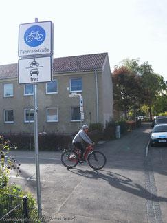 In Zukunft können auch Fahrradzonen angeordnet werden