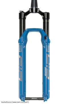 """Die """"Sid SL"""" (ab 649 Euro) ist laut Hersteller die leichteste XC-Gabel auf dem Markt"""