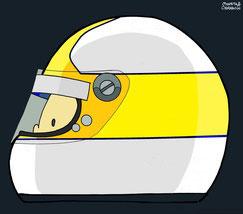 Helmet of Kazuyoshi Hoshino by Muneta & Cerracín