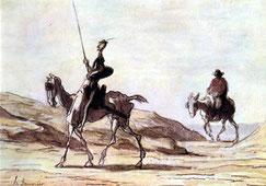 "El Quijote ""a la gorra"""