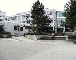 会場のNeville Scarfe Building, UBC