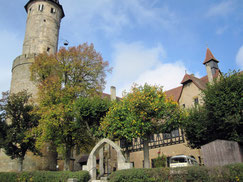 Altenburg, Bergfried und Palas