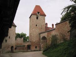 Burg Trausnitz, Zwinger und Vorburg