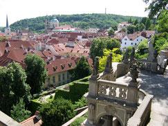 Prager Burg, südliche Gärten