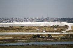 Residuos de fosfoyesos en Huelva.