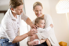 Osteopathie Post Behandlung von Kindern