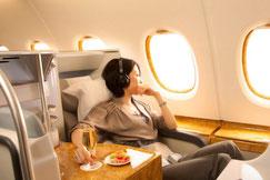 Businessclass Emirates