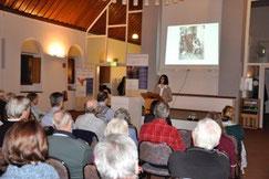 Theologin Dr. Ute Leimgruber bei ihrem Vortrag
