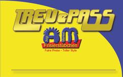 """Friseursalon - Argi Merkel - Frisierstübchen Frensdorf """"Treuepass"""" www.argi-merkel.de"""