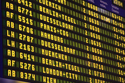 Foto Airport Abflugverspätung