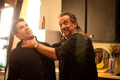 Giorgio Serafini mit Gianni Capaldi