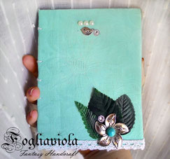 junk journal turchese