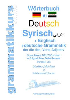 Wörterbuch für unsere Teilnehmer aus Syrien