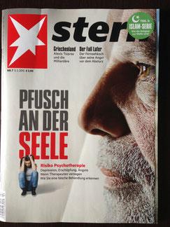 Die Titelstory des stern Nr. 7 vom 05. Februar 2015