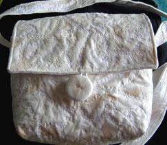 sac soie, sac à bandoulière, Armelle Soie, Bretagne, fabriqué en France, ton naturel,fabriqué en bretagne, fait main,mariage, cérémonie,