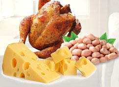 сыр, арахис, индейка, курица, триптофан, серотонин