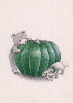 かぼちゃ(2014年バートックギャラリー「ハーベストフェスティバル展」参加作品)
