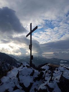 Gipfelkreuz Maisenkögerl, Bräumauer, Scharnstein, Almtal