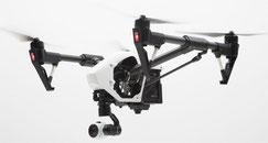 Kamera für die TV-Drohne in Full-HD DJI Inspire