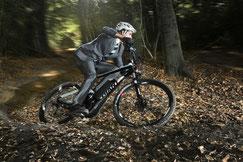 e-bike fahren im Herbst und Winter