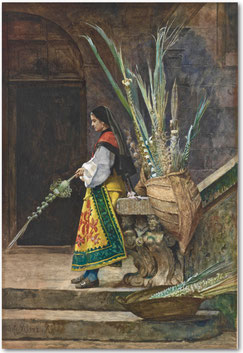 J-G Vibert, Dimanche des Rameaux en Espagne,1873