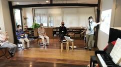 どれみLABO 音楽健康サロン 音楽療法 シニア 江東区 介護予防