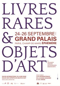 salon du livre rare, librairie solstices, solstices rare books, Anne Goy,reliure d'art, grand palais, paris