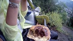 Kuchen Alpen Italien Südtirol E5 Wandern Berge Gebäck