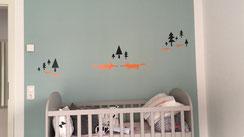 Babyzimmer schnell mit Vinylfolie pimpen