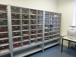 Post-Schließfachanlagen