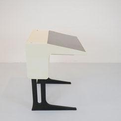 höhenverstellbarer vintage Flötotto Schreibtisch Modell Optimal