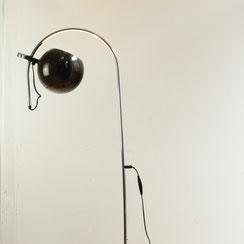 HEMI Sweden Space Age Stehlampe Stehleuchte Kugellampe vintage Bogenleuchte