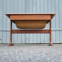 Nähtisch aus Teakholz von Kai Kristiansen für vildbjerg møbelfabrik, Conni Kern Interior: Design und vintage Möbel, Leuchten und Objekte in Mannheim