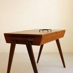 Teak Nähtisch sewing table vintage Möbel Mannheim Conni Kern Interior