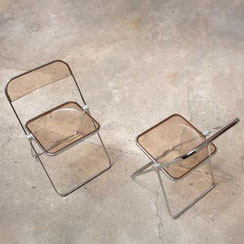 Plia Klappstühle von Giancarlo Piretti für Castelli, Conni Kern Interior, Design und vintage Möbel in Mannheim