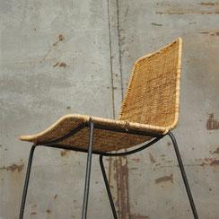 Basket Chair im Stile von Gianfranco Legler, Conni Kern Interior, Design und vintage Möbel in Mannheim