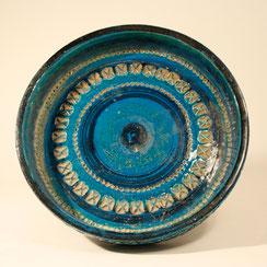 Keramik Schale rimini blu von Aldo Londi für Bitossi, Italy, Conni Kern Interior: Design und vintage Möbel, Leuchten und Objekte in Mannheim