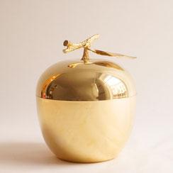 Freddotherm by Turnwald, Ice bucket in Form eines goldenen Apfels, Conni Kern Interior: Design und vintage Möbel, Leuchten und Objekte in Mannheim