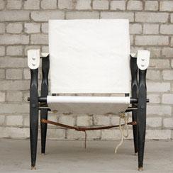 Safari Chair, Conni Kern Interior: Design und vintage Möbel, Leuchten und Objekte in Mannheim